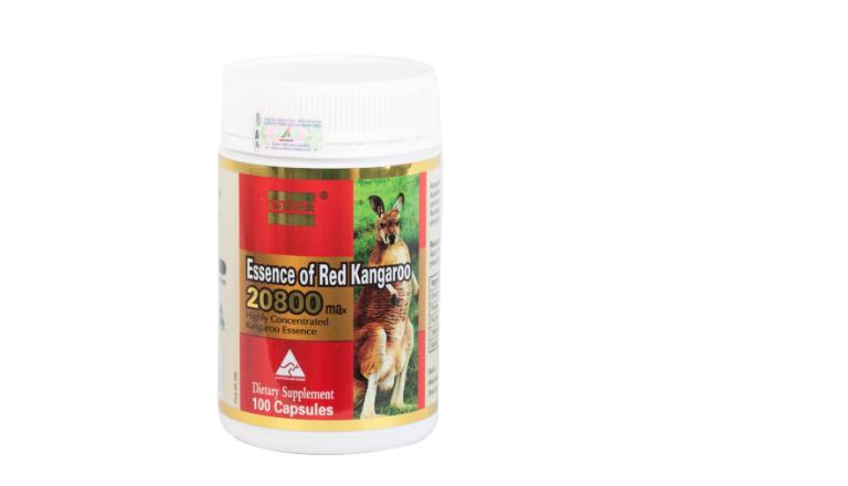 Thuốc Essence Of Red Kangaroo giúp nâng cao chất lượng tinh trùng, tăng cường sinh lý nam.