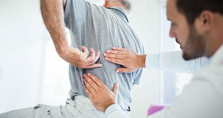 bài tập vật lý trị liệu cho người viêm cột sống dính khớp