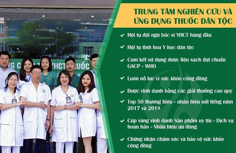 Thông tin về Công ty Thuốc dân tộc chữa bệnh vảy nến