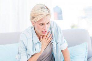 Viêm amidan gây khó thở chỉ xuất hiện khi amidan sưng to