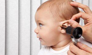 viêm tai giữa ở trẻ sơ sinh