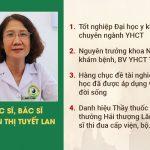 Chuyên gia tiêu hóa - Ths.Bs Nguyễn Thị Tuyết Lan