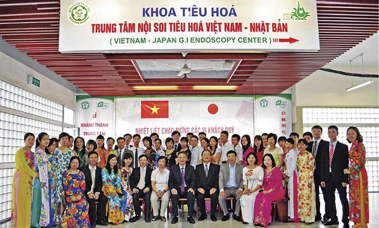 Nội soi Tiêu hóa trực thuộc Khoa Tiêu hóa của Bệnh viện Bạch Mai khai trương năm 2014