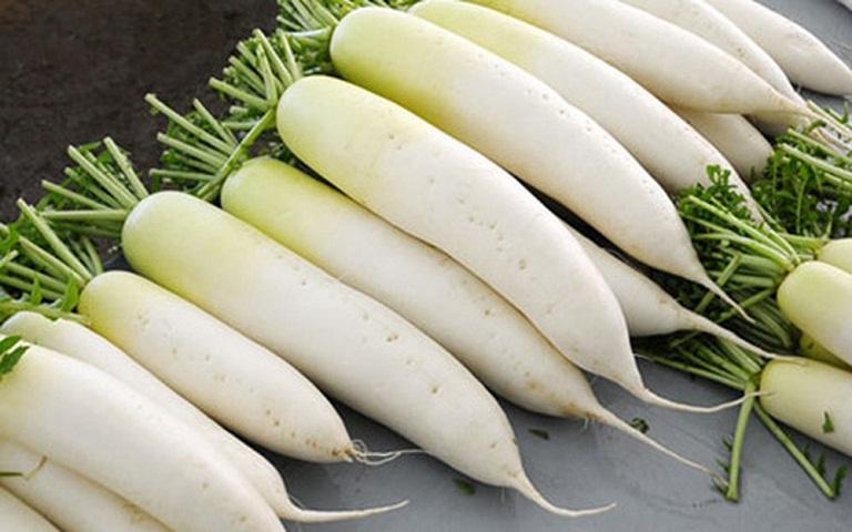 cách trị ho cho trẻ không cần dùng thuốc từ củ cải trắng