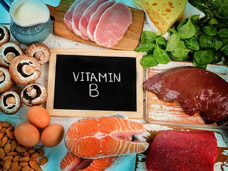 cách chữa rụng tóc tại nhà bằng thực phẩm giàu vitamin B