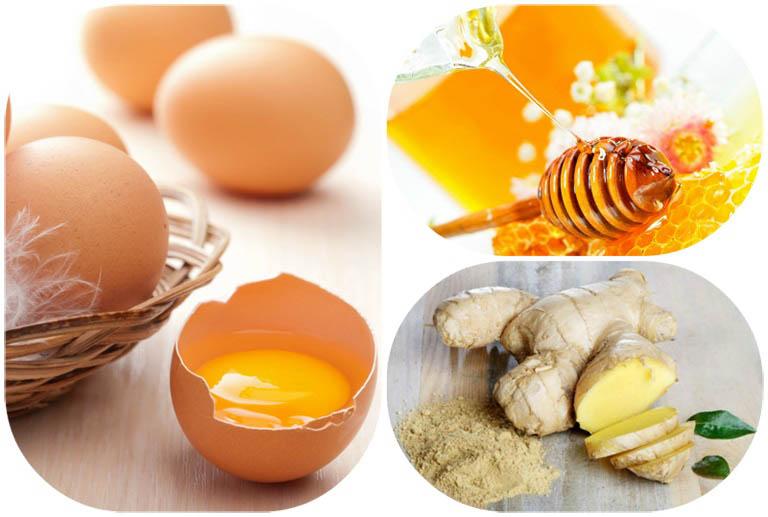 Chữa yếu sinh lý bằng trứng gà, mật ong và gừng là phương pháp được nhiều người áp dụng