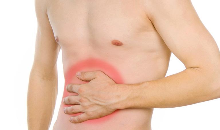 vị trí đau dạ dày