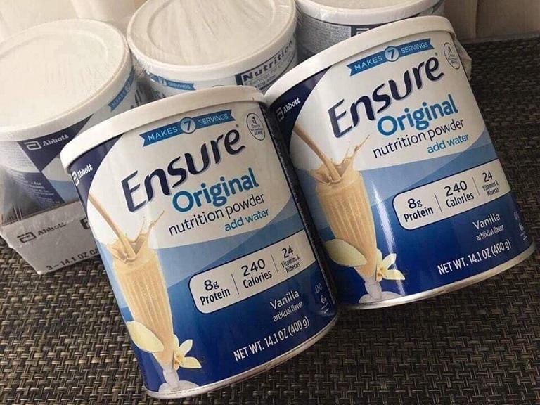 Đau dạ dày có uống được sữa Ensure