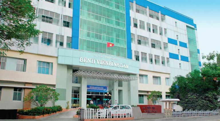 Bị đau tinh hoàn, nam giới có thể khám tại bệnh viện Bình Dân, TP. Hồ Chí Minh.