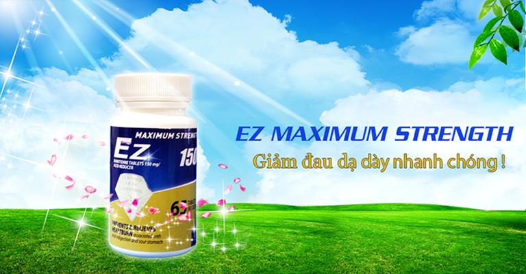 Ez Maximum Strength có tác dụng hỗ trợ làm giảm các vấn đề liên quan đến dạ dày