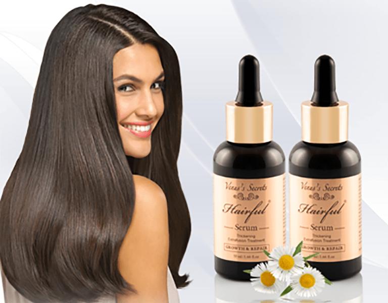 Thuốc bôi mọc tóc Hairful Serum của Mỹ có khả năng kích thích mọc tóc sau thời gian dài rụng nhiều