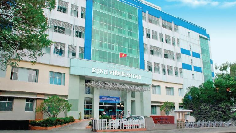 Nam giới có thể khám tuyến tiền liệt tại bệnh viện Bình Dân, TP. HCM.