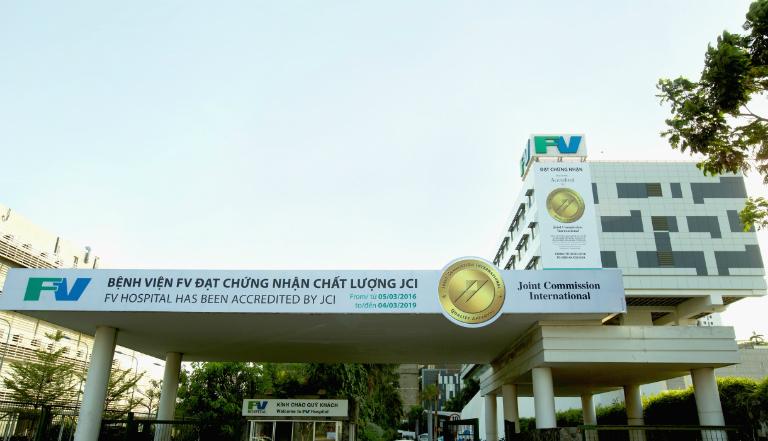 Bệnh viện FV là một bệnh viện có dịch vụ khám tuyến tiền liệt.