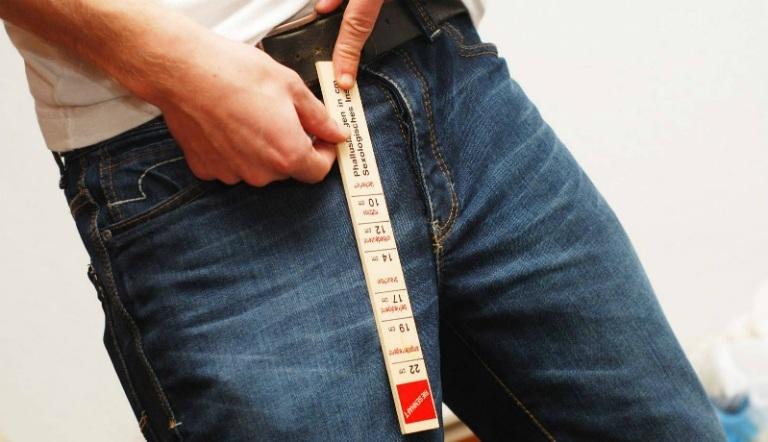 Kích thước cậu nhỏ chuẩn của nam giới trên toàn thể giới là 14 cm.