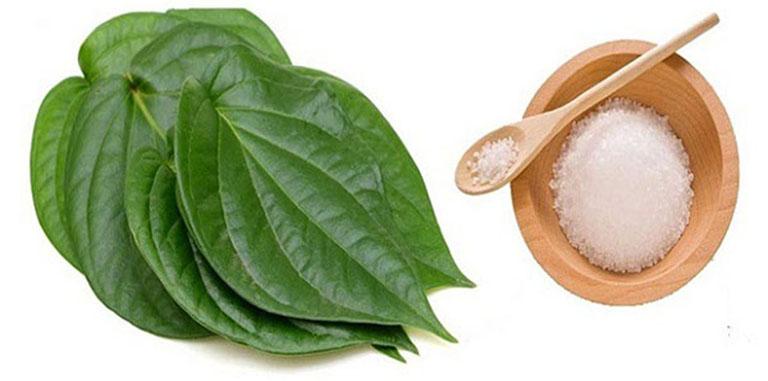 Lá trầu có tác dụng ngăn ngừa mùi hôi, làm khô thoáng vùng kín và điều trị bệnh huyết trắng rất tốt