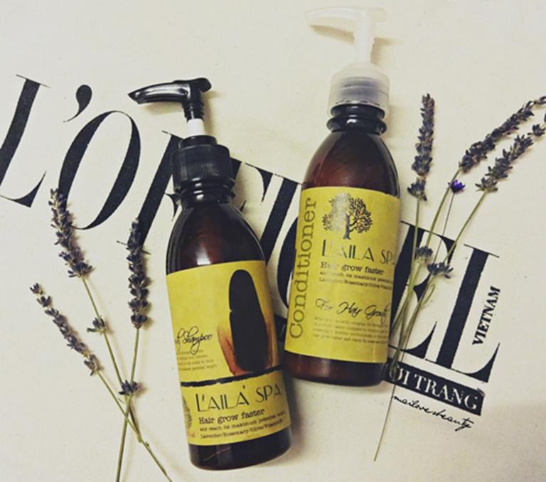 Dầu gội Laila Spa của Thái Lan giúp cung cấp các dưỡng chất cần thiết ngăn ngừa rụng tóc và kích mọc tóc