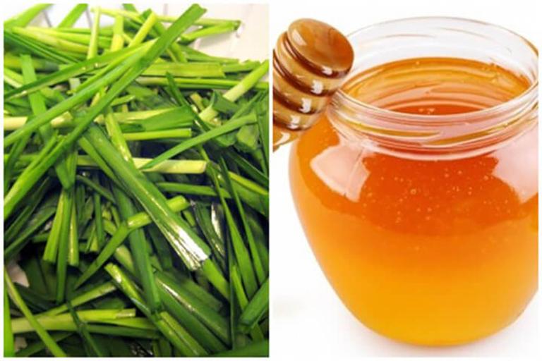 Sử dụng mật ong kết hợp với lá hẹ để điều trị ho có đờm giúp làm giảm nhanh các triệu chứng ho
