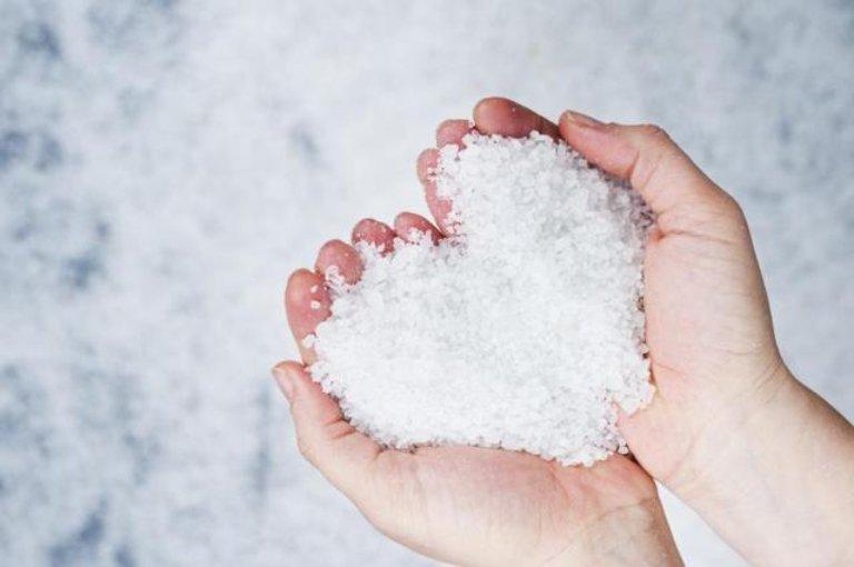Muối có tính sát khuẩn, kháng viêm cao