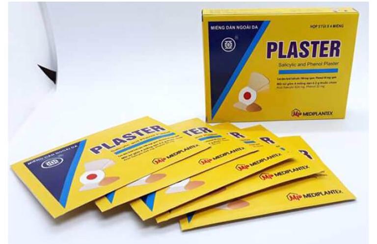 Miếng dán trị mụn cóc Plasters rất an toàn, hiệu quả được nhiều người tin dùng