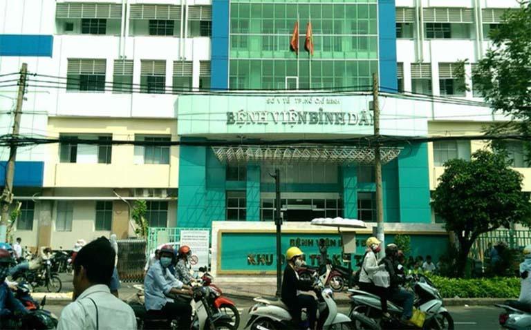 mổ trĩ ở bệnh viện bình dân
