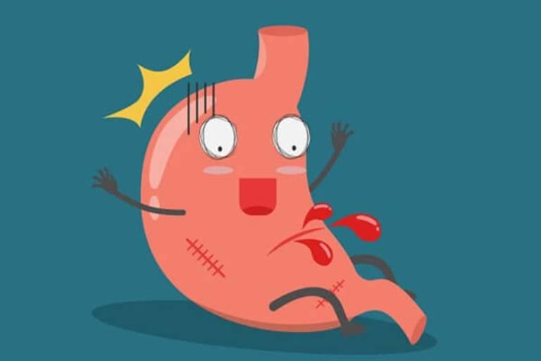 Người bị xuất huyết dạ dày cần xây dựng chế độ dinh dưỡng hợp lý để hỗ trợ quá trình phục hồi