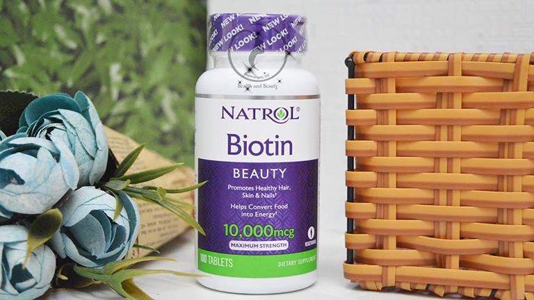 Thuốc mọc tóc Natrol Biotin Beauty của Mỹ được nhiều người ưu tiên lựa chọn hỗ trợ chăm sóc tóc