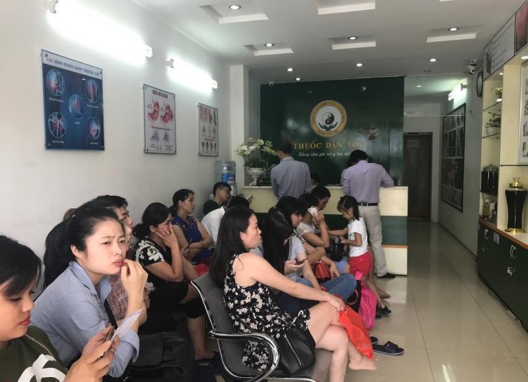 phòng khám chữa bệnh trĩ Trung Tâm Nghiên Cứu và Ứng Dụng Thuốc Dân Tộc