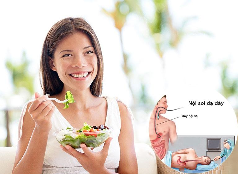 sau khi nội soi dạ dày nên ăn gì
