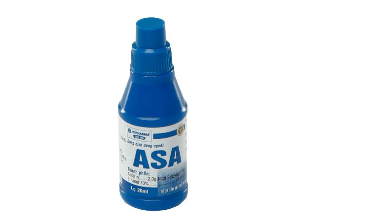 Thuốc ASA là thuốc dùng để điều trị viêm sưng, giảm đau.