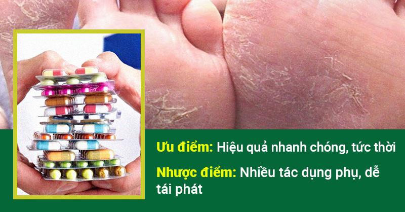 Thuốc tây điều trị bệnh á sừng