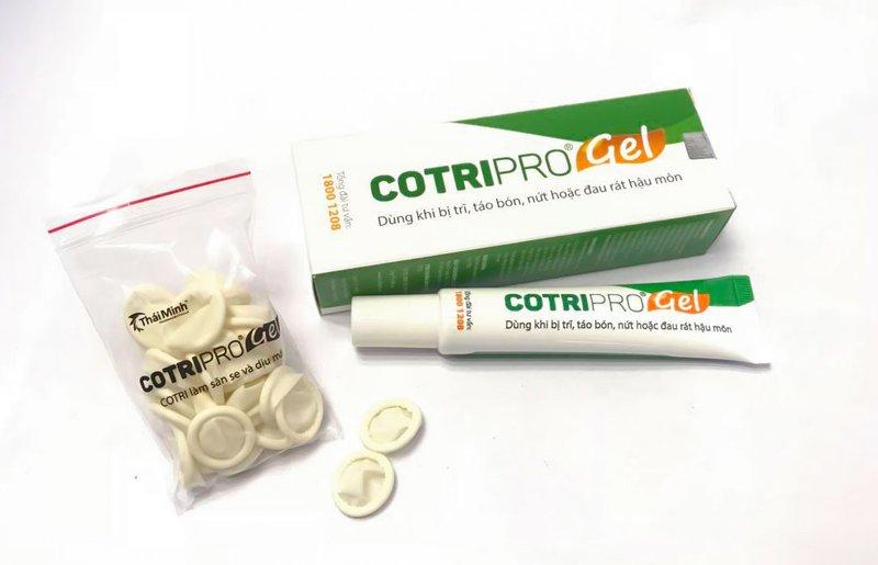 Thuốc chữa bệnh trĩ Cotripro