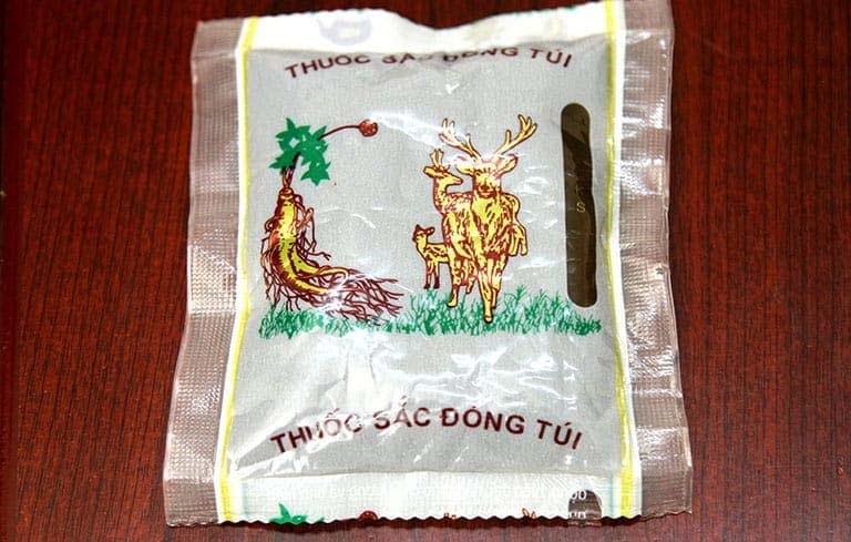 Thuốc đóng túi của Trung tâm Phụ khoa Đông y