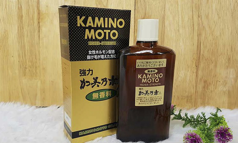 Thuốc bôi mọc tóc Kaminomoto của Nhật thường được sử dụng cho những trường hợp nặng