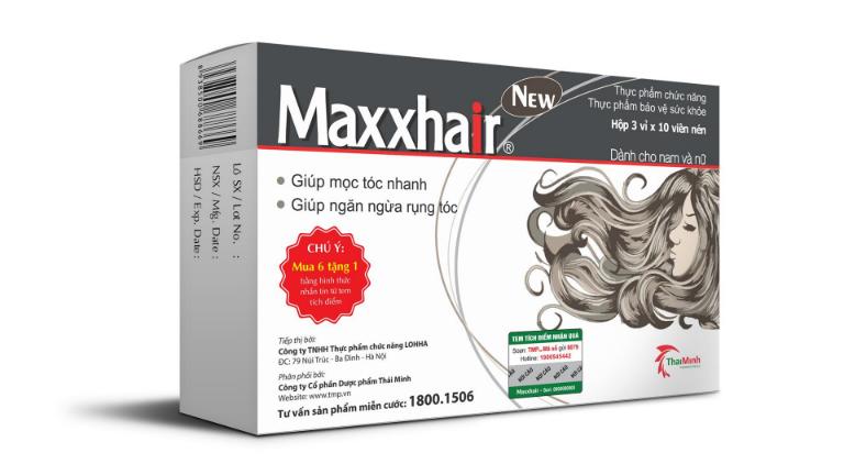 Thuốc Maxxhair là thuốc chống rụng tóc hiệu quả, dùng được cho cả nam giới và nữ giới.