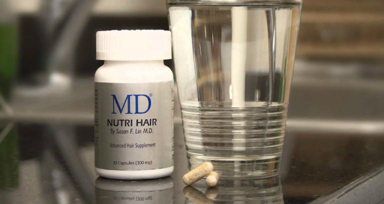 MD Nutri Hair là thuốc uống chống rụng tóc tốt nhất hiện nay.