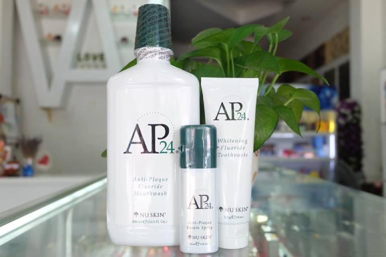 Nước súc miệng Nuskin AP24 là sản phẩm nổi tiếng của Mỹ