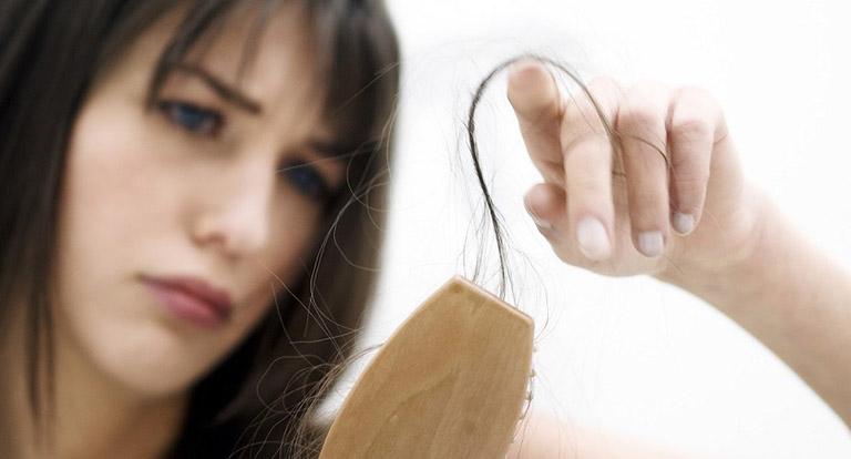nguyên nhân tóc gãy rụng