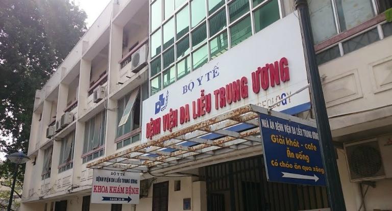 Bệnh viện Da liễu Trung ương là một đơn vị khám, điều trị viêm nang lông tốt tại Hà Nội.