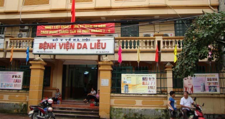 Bệnh viện Da liễu Hà Nội là một cơ sở điều trị viêm nang lông tốt.