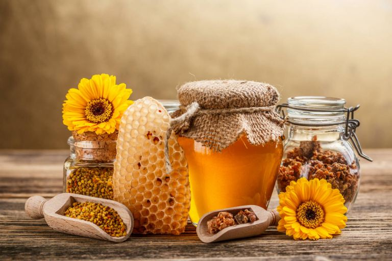 Mật ong trị viêm thanh quản