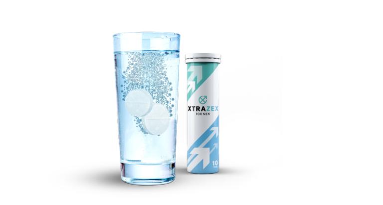Cách dùng viên sủi Xtrazex đó là cho viên sủi vào 200ml nước lọc. Uống dung dịch sau khi viên sủi đã tan hoàn toàn.