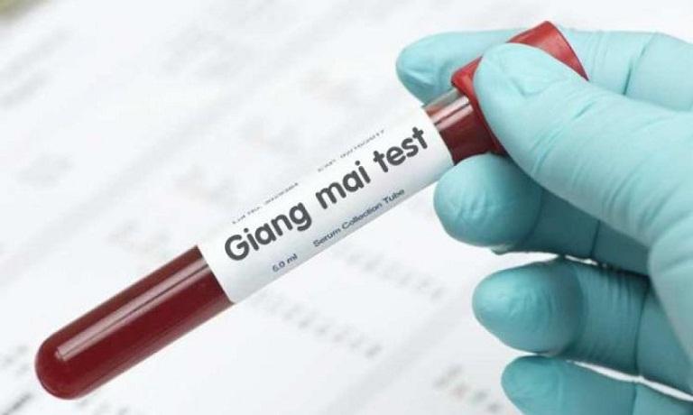 xét nghiệm máu chẩn đoán bệnh giang mai tại bệnh viện Da Liễu TPHCM