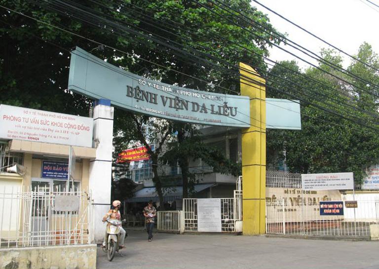 xét nghiệm giang mai ở bệnh viện Da Liễu TPHCM