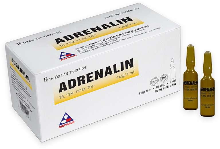 Thuốc Adrenalin là thuốc gì? Giá bán, cách dùng và tương tác