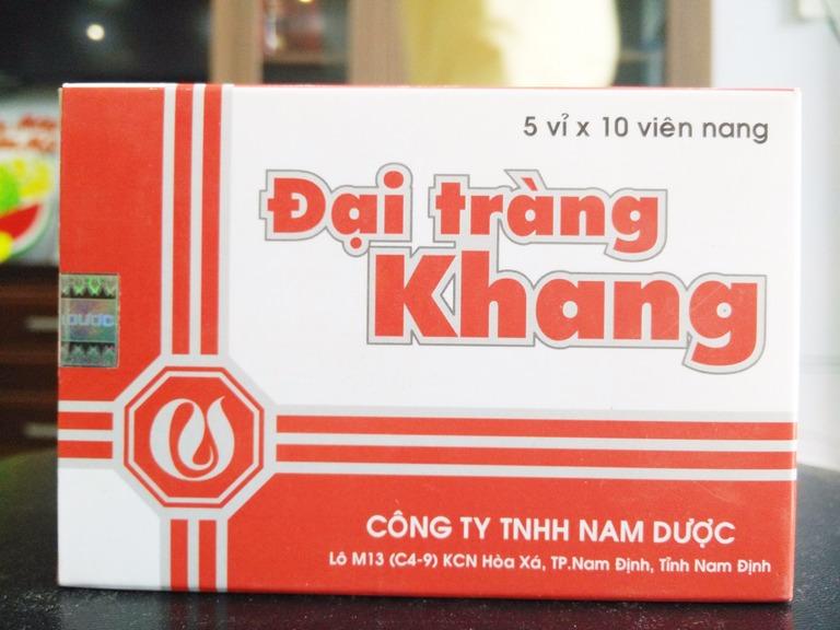 Đại Tràng Khang là thuốc điều trị các bệnh về đại tràng