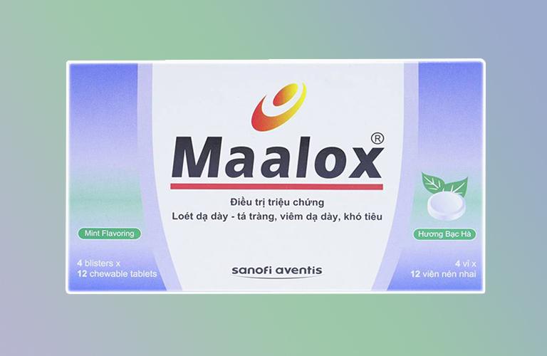 Công dụng của thuốc Maalox