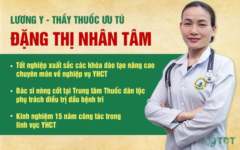 Thầy thuốc ưu tú - Lương y Nguyễn Thị Nhân Tâm
