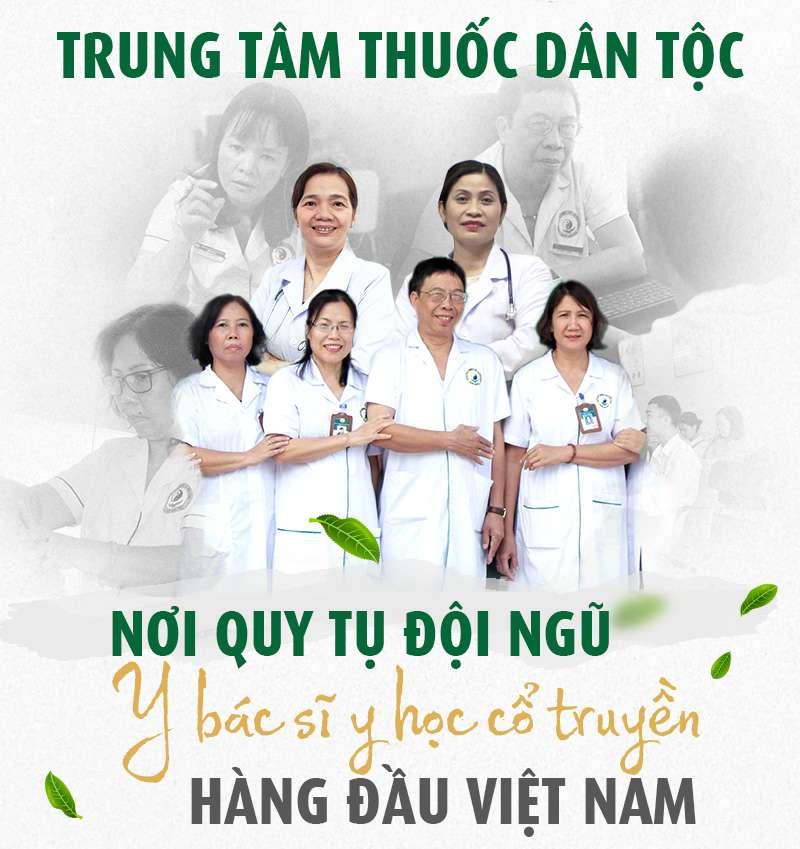 Đội ngũ bác sĩ điều trị viêm da cơ địa tại Trung tâm Thuốc Dân Tộc