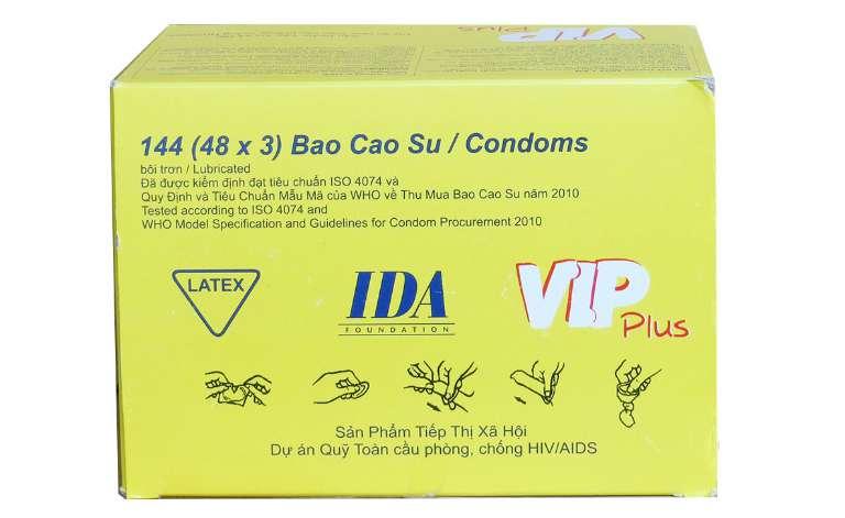 Bao cao su Vip Plus là sản phẩm đạt chất lượng tốt, được kiểm định an toàn cho sức khỏe con người.