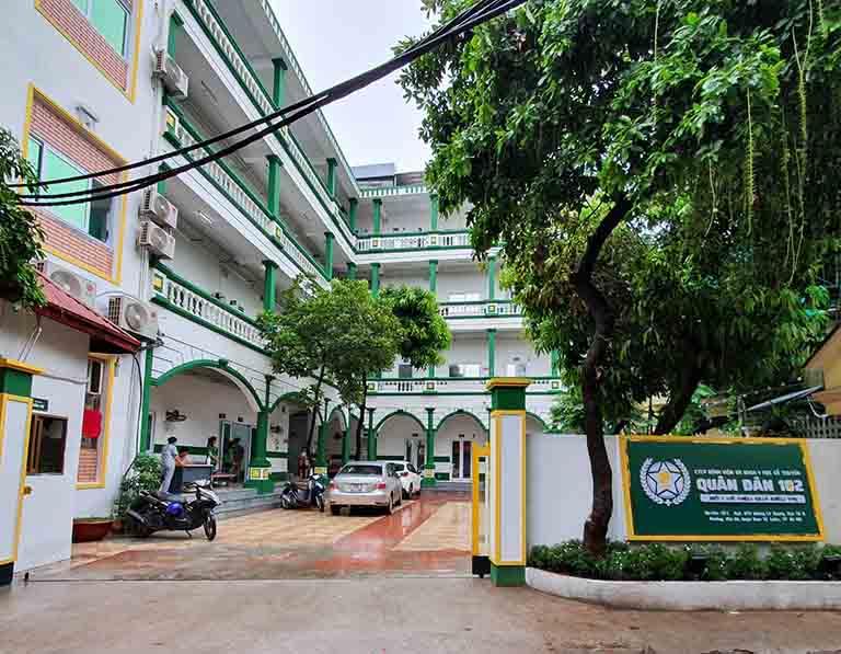 Bệnh viện Tai Mũi Họng Quân dân 102 - địa chỉ khám chữa viêm xoang hàng đầu